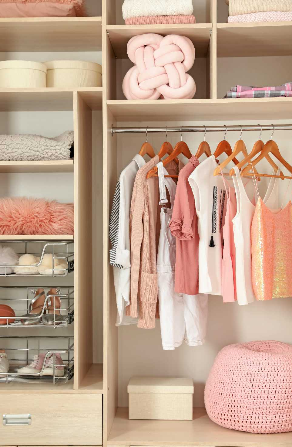 creative kid's closet